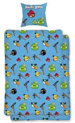 HALANTEX Angry Birds Slingshot bavlněné povlečení