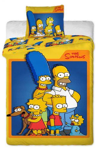 Jerry Fabrics Simpsons family bavlněné povlečení cena od 630 Kč