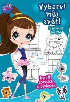 Hasbro: Littlest Pet Shop - Vybarvi můj svět 1! Čtyři roční období cena od 88 Kč