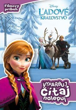 ľadové kráżovstvo Filmový príbeh Vyfarbuj, čítaj, nalepuj cena od 83 Kč