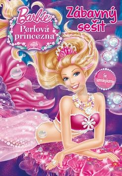 Mattel: Barbie - Perlová princezna - Zábavný sešit se samolepkami cena od 67 Kč