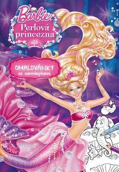 Mattel: Barbie - Perlová princezna - Omalovánky se samolepkami cena od 71 Kč