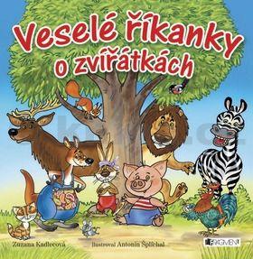 Zuzana Kadlecová: Veselé říkanky o zvířátkách cena od 121 Kč