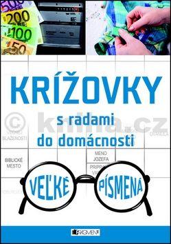 Krížovky s radami do domácnosti Veżké písmená cena od 94 Kč