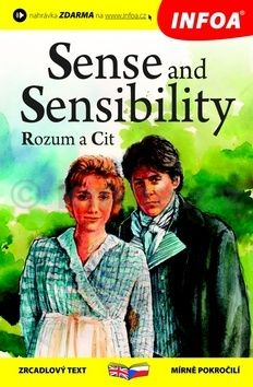 Austenová Jane: Rozum a cit / Sense and Sensibility - Zrcadlová četba cena od 129 Kč