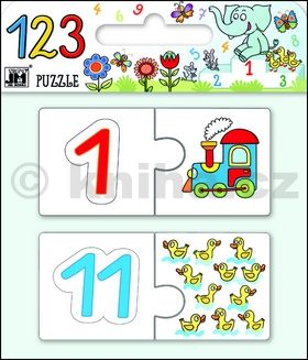 Puzzle 123 cena od 147 Kč