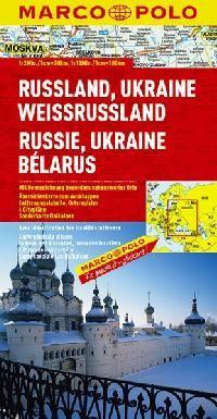 Rusko Ukrajina západní Rusko 1:2mil. cena od 112 Kč