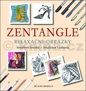 Beckah Krahula: Zentangle - Relaxační obrázky cena od 195 Kč
