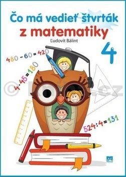 Ľudovít Bálint: Čo má vedieť štvrták z matematiky 4 cena od 98 Kč