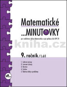 Miroslav Hricz: Matematické minutovky 9. ročník / 1. díl cena od 29 Kč