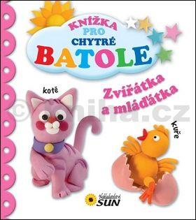 Grez Marcela: Zvířátka a mláďátka - Knížka pro chytré batole cena od 50 Kč