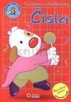 Cvičebnice předškoláka - Čísla cena od 36 Kč