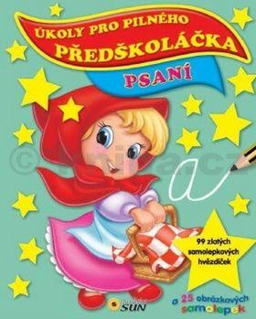 Psaní - Úkoly pro pilného předškoláčka cena od 63 Kč