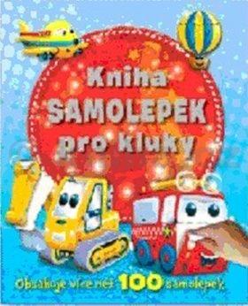 Kniha samolepek pro kluky cena od 0 Kč