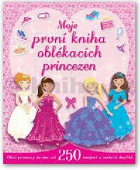 Moje první kniha oblékacích princezen cena od 125 Kč