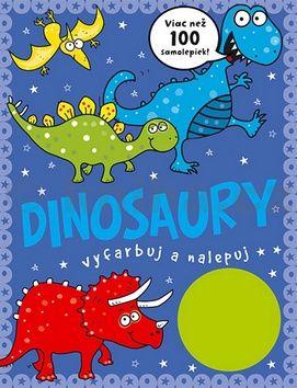 Dinosaury vyfarbuj a nalepuj cena od 94 Kč