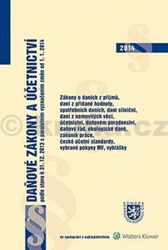 Daňové zákony a účetnictví od 1.1.2014 cena od 459 Kč