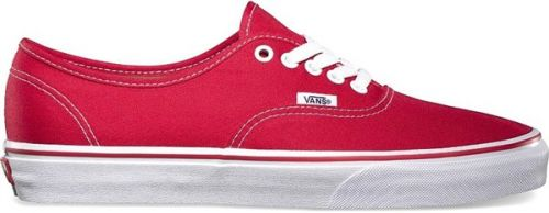 VANS AUTHENTIC RED boty