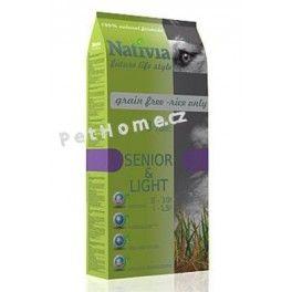 Nativia Dog Senior&Light 15 kg