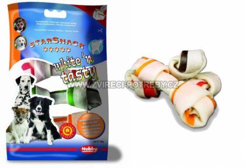 Nobby StarSnack White'n Tasty žvýkací uzlíky 10 - 11,5 cm,150 g
