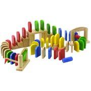 Voila Dřevěné domino Klasik cena od 495 Kč