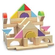 Wonderworld Dřevěné přírodní kostky 50 cena od 469 Kč