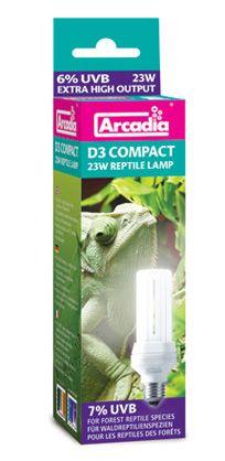 Arcadia D3 Compact Reptile Lamp