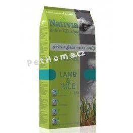 Nativia Dog Adult Lamb&Rice 15 kg