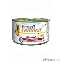 Trainer Fitness Adult Mini Lamb Rice 150 g cena od 45 Kč