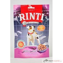Rinti Dog pochoutka Extra Mini-Bits mrkev+špenát 100 g