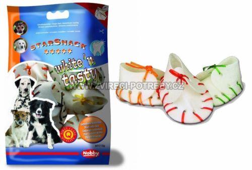Nobby StarSnack White'n Tasty žvýkací botičky 55 g