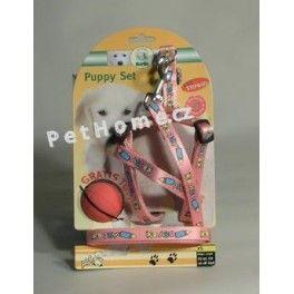 Karlie Postroj štěně nylon+vodítko 25-45 cm/130 cm