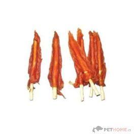 Wanpy Want Dog Kuřecí plátky s kalciovou tyčkou 500 g