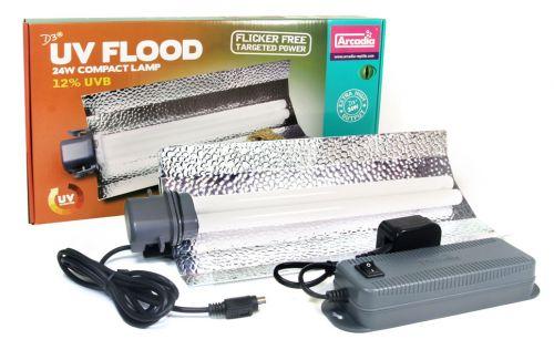 Arcadia D3+ Flood Lamp 24W 12.0 UVB