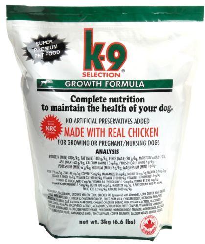 K-9 growth 3 kg