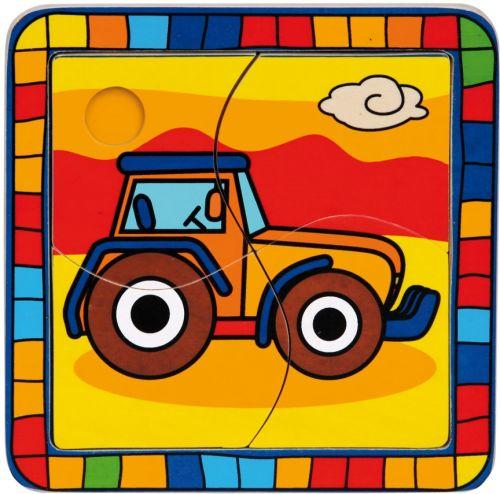 BINO Vkládací puzzle traktor cena od 51 Kč