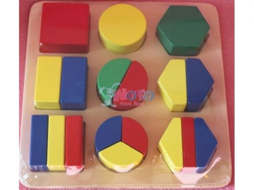 WOTO Geometrické tvary dřevěné