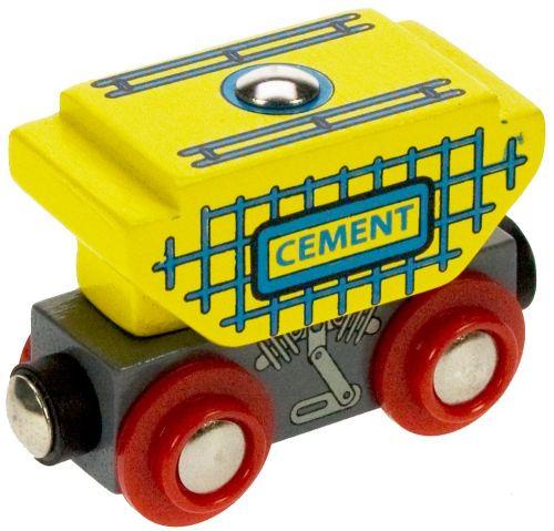 Bigjigs Toys Vagon s cementem