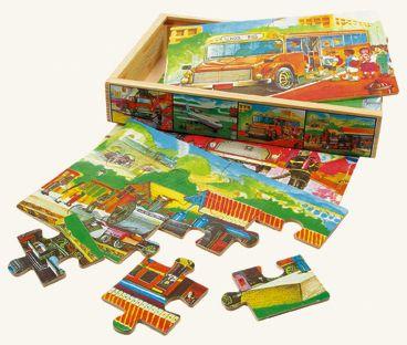 Puzzle v krabičce - doprava cena od 116 Kč