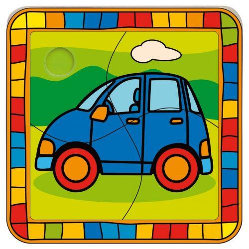 BINO Vkládací puzzle auto cena od 0 Kč