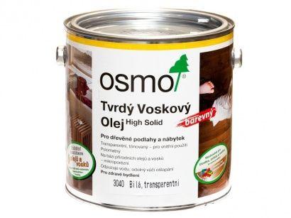 Osmo 3040 tvrdý voskový olej bílý 2,5 l