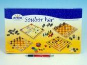 Detoa Soubor her společenská hra v krabici