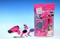 Mikro hračky Sada krásy s fénem na baterie cena od 0 Kč