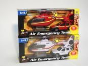 Alltoys záchranáři auto a vrtulník 2ass Mac Toys 1:48  cena od 155 Kč