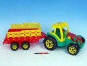 Teddies Traktor s vlekem 75 cm cena od 257 Kč