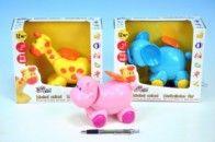 Teddies Zvířátko na kolečkách hrací strojek 15 cm cena od 152 Kč