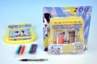 Mikro Trading Kreslící sada ZOU 18x18 cm cena od 79 Kč