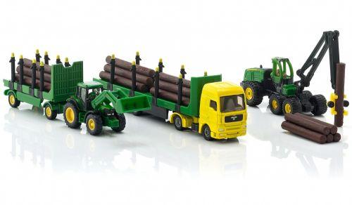SIKU Farmer set lesnický John Deere cena od 899 Kč