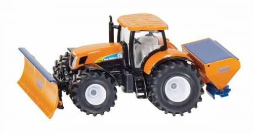SIKU Super Traktor s přední radlicí a sypačem soli 1:50 cena od 379 Kč