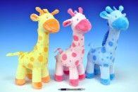 Mikro Trading Žirafa plyš stojící 38 cm cena od 146 Kč